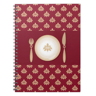 vintage cook book note books