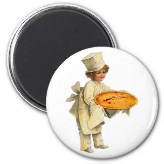 Vintage Cook Magnet