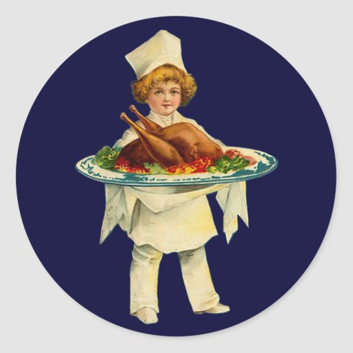 Vintage Cook Sticker