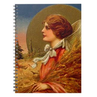 Vintage Cookbook Recipe Recipes Journal Notebook