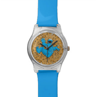 Vintage Cookie Monster and Cookies Wrist Watches