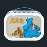 """Vintage Cookie Monster Eating Cookies Lunch Box<br><div class=""""desc"""">Cookie Monster goes crazy over cookies!        This item is recommended for ages 2 . &#169;  2014 Sesame Workshop. www.sesamestreet.org</div>"""