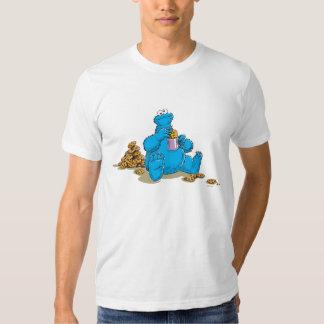 Vintage Cookie Monster Eating Cookies Shirt