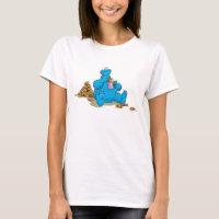 Vintage Cookie Monster Eating Cookies T-Shirt