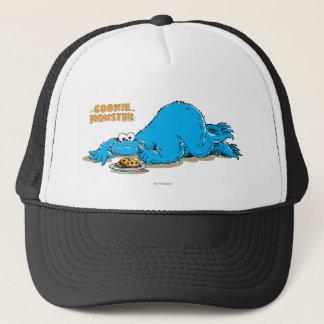 Vintage Cookie Monster Plate of Cookies Trucker Hat