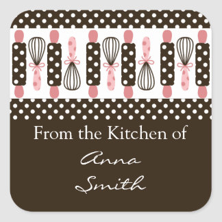 Vintage Cooking Utensils Kitchen Label