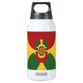 Vintage COOL CUTE RETRO Jamaicans Raster Colo Insulated Water Bottle