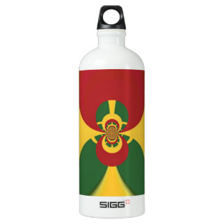 Vintage COOL CUTE RETRO Jamaicans Raster Colo Water Bottle