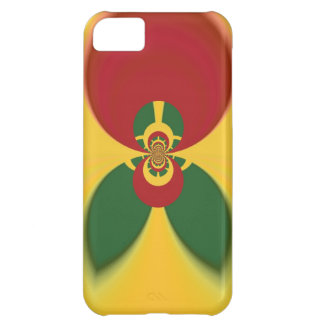 Vintage COOL CUTE RETRO Jamaicans Raster Gift Colo Cover For iPhone 5C