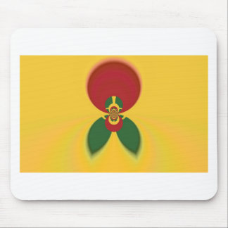 Vintage COOL CUTE RETRO Jamaicans Raster Gift Colo Mouse Pad