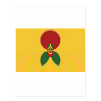 Vintage COOL CUTE RETRO Jamaicans Raster Gift Colo Postcard