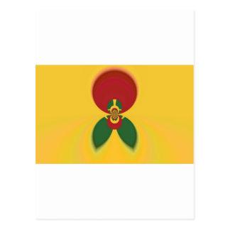 Vintage COOL CUTE RETRO Jamaicans Raster Gift Colo Postcard