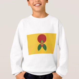 Vintage COOL CUTE RETRO Jamaicans Raster Gift Colo Sweatshirt