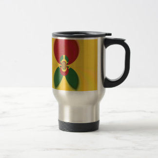 Vintage COOL CUTE RETRO Jamaicans Raster Gift Colo Travel Mug