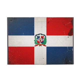 Vintage Cool Grunge Dominican Flag Cover For iPad Mini