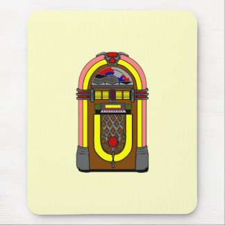 Vintage Cool Jukebox Mousepad