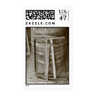 Vintage cooperage tools stamp