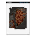 Vintage Copper Steampunk iPad Decal For iPad 3