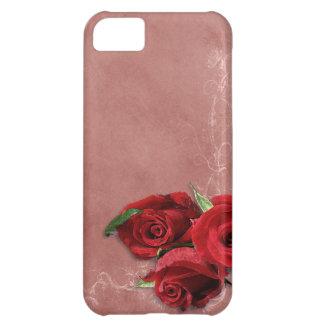 Vintage Coral Rose iPhone 5C Case