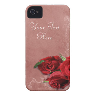 Vintage Coral Rose Case-Mate iPhone 4 Case