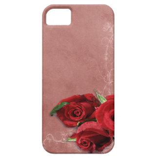 Vintage Coral Rose iPhone 5 Case