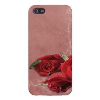 Vintage Coral Rose iPhone 5 Cover