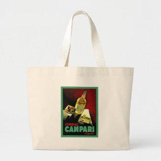Vintage Cordial Liqour Advertisement Canvas Bag