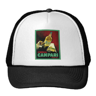 Vintage Cordial Liqour Advertisement Trucker Hats
