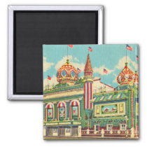 Vintage Corn Palace Magnet