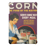 Vintage Corn Poster iPad Mini Cover