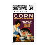Vintage Corn Poster Postage