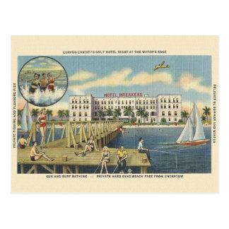 Vintage Corpus Christi Beach Postcard