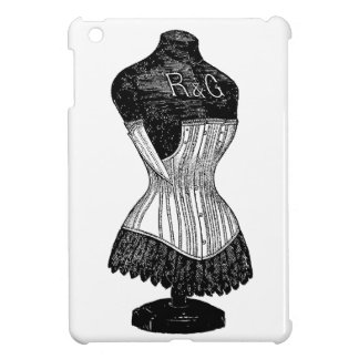 Vintage Corset dress form Cover For The iPad Mini