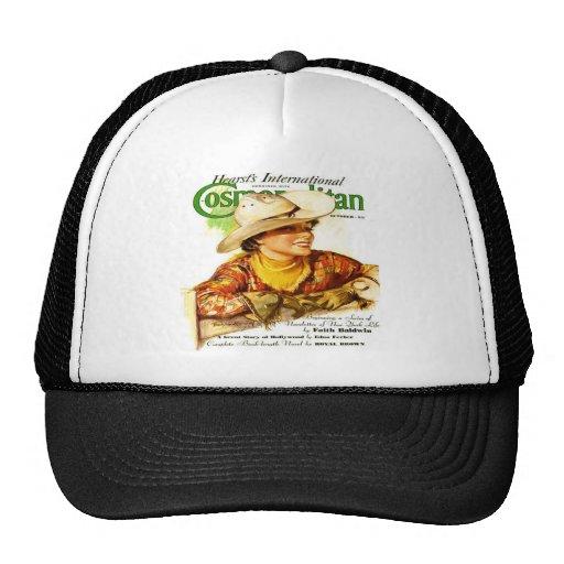 Vintage Cosmopolitan Magazine Cover (Cowgirl) Trucker Hat