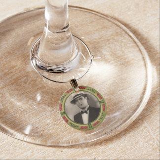 Vintage Costome Groom Wine Charm