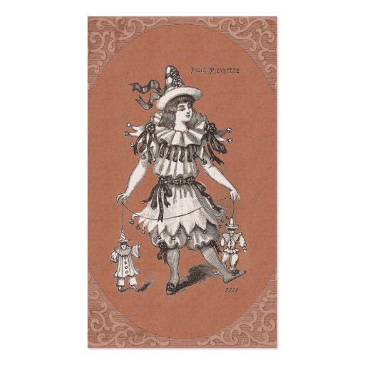 Vintage Costume Designer / Vintage Clothing Shop Business Cards