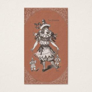 Vintage Costume Designer / Vintage Clothing Shop Business Card