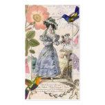 Vintage Costume Designer / Vintage Clothing Shop Business Card Templates