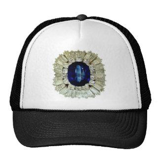 Vintage Costume Jewelry Rhinestones Diamonds Hats