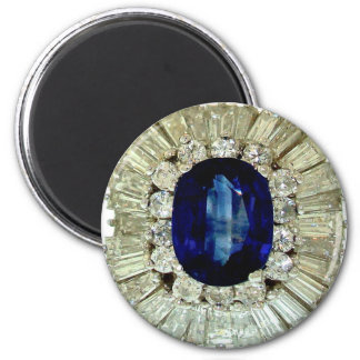 Vintage Costume Jewelry Rhinestones Diamonds Magnets