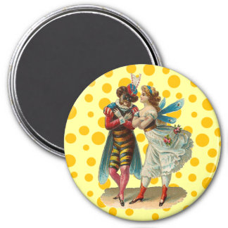 Vintage Costume Party Magnet