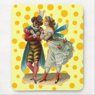 Vintage Costume Party Mousepad