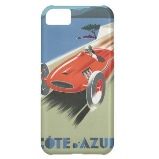 Vintage Cote d Azur Race iPhone 5C Case