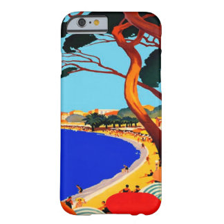 Vintage Cote D'Azur French Travel Barely There iPhone 6 Case