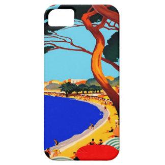 Vintage Cote D'Azur French Travel iPhone 5 Case