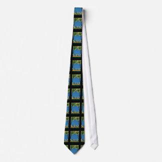 Vintage Cote D'Azur French Travel Neck Tie