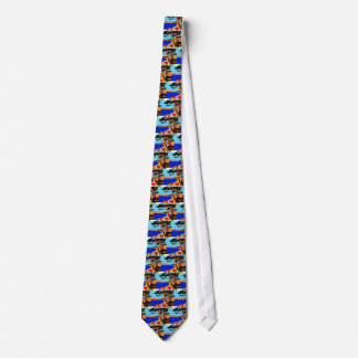 Vintage Cote D'Azur French Travel Neck Tie