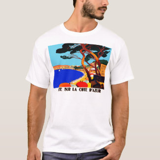 Vintage Cote D'Azur French Travel T-Shirt