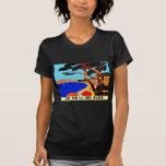 Vintage Cote D'Azur French Travel T-shirts