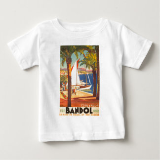 Vintage Cote D'Azur French Travel Tee Shirt